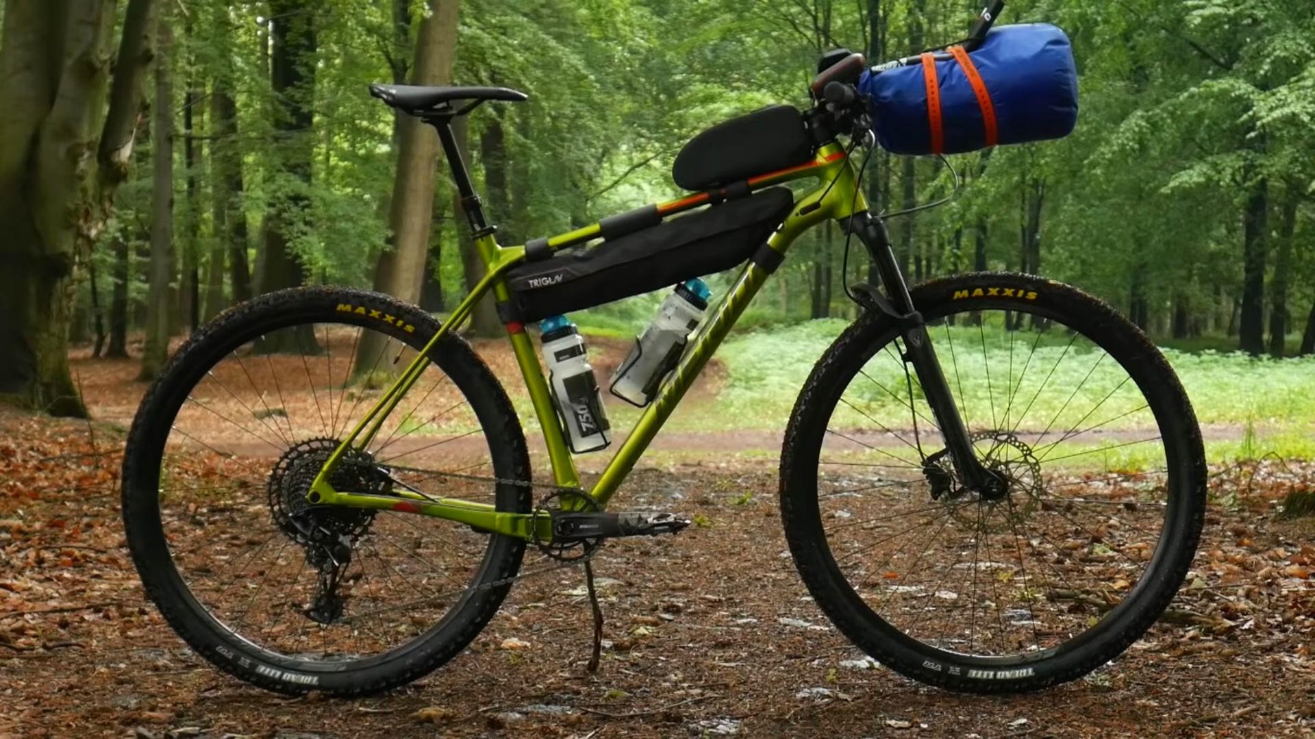 Bushcraftowy, rower na wyprawę, Merida Big.Nine NX-Edition