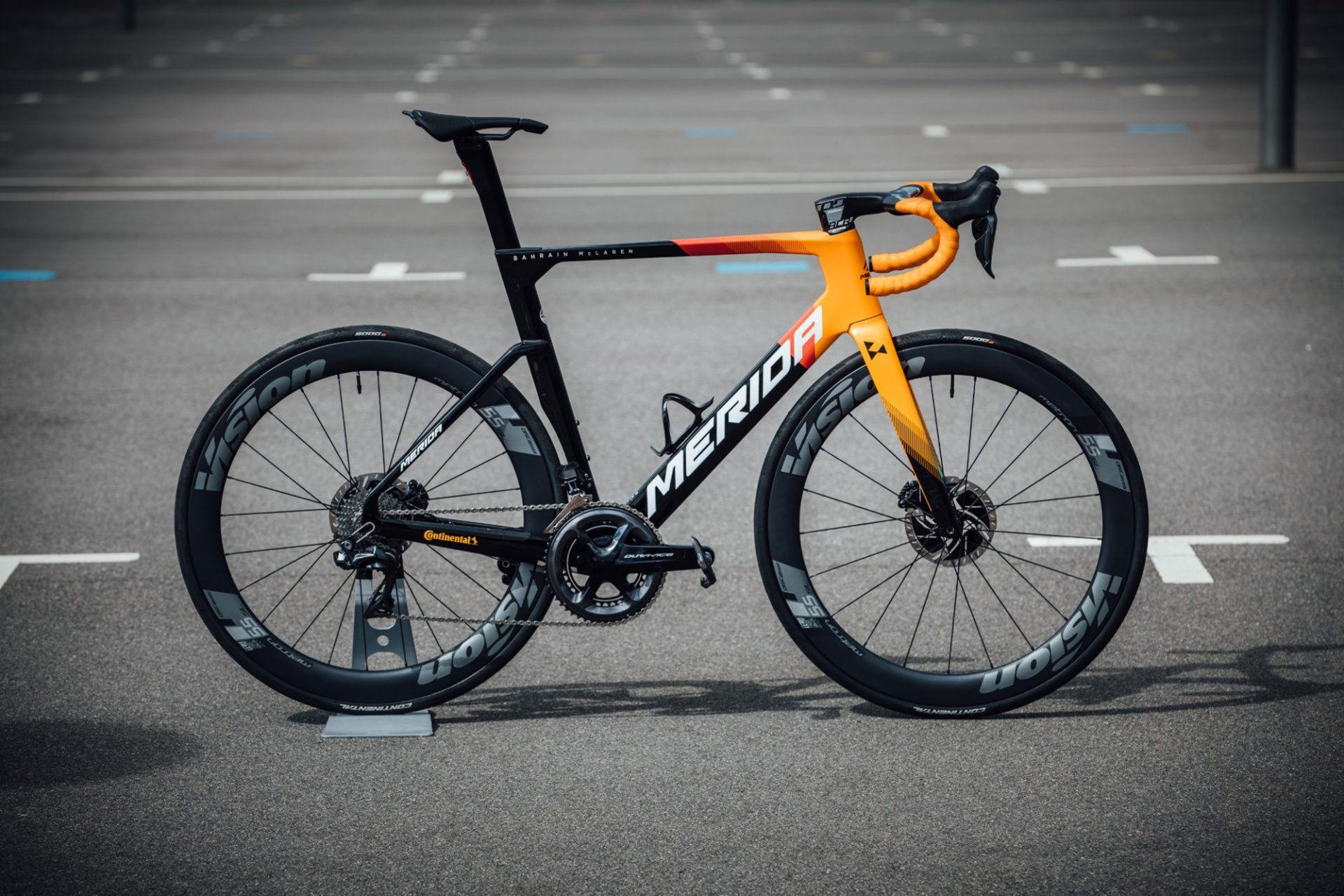 Merida Reacto, nowe Reacto, Reacto Disc, Bahrain McLaren, rowery Merida, rowery szosowe Merida, rowery szosowe, rower szosa