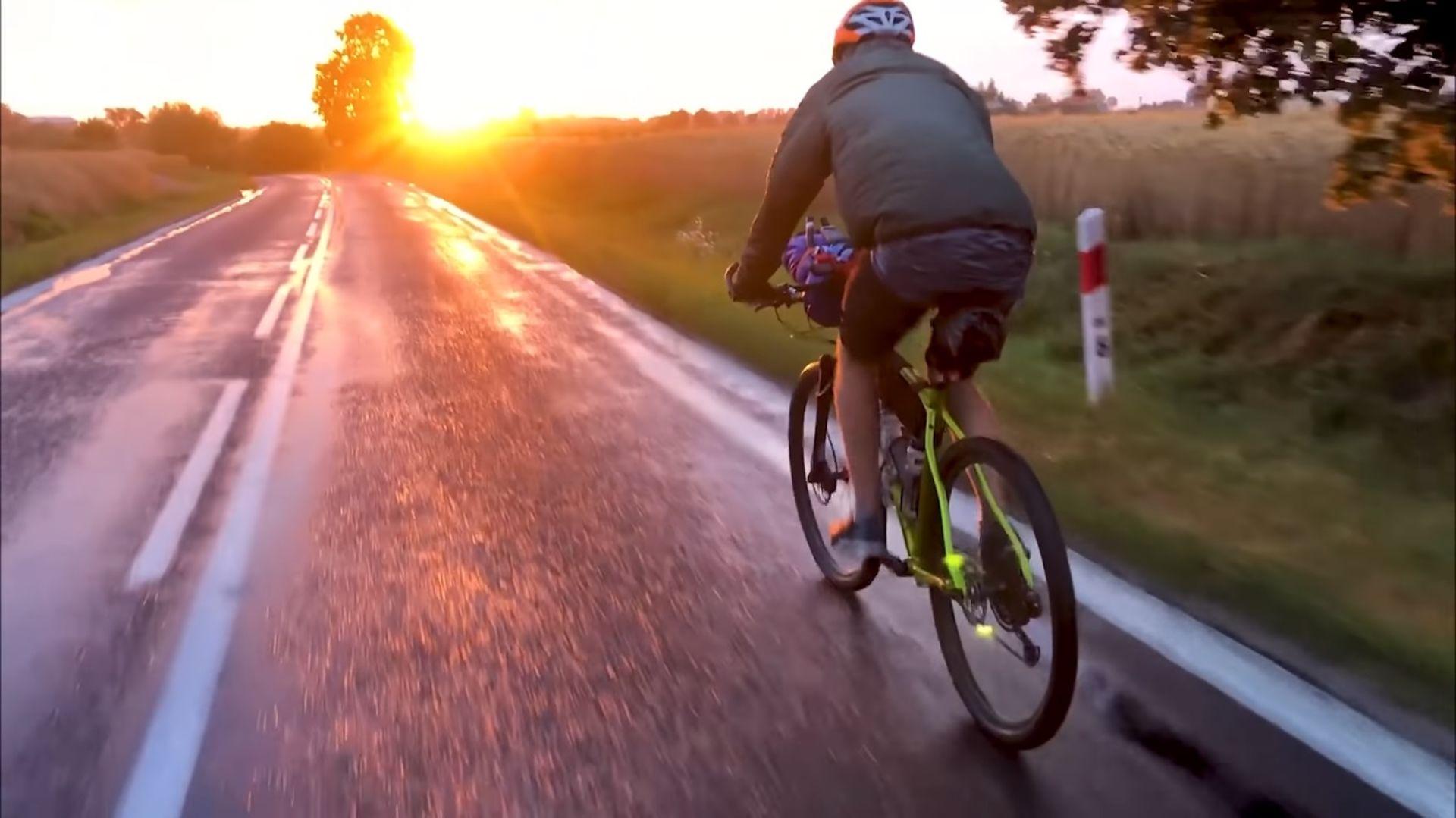 Bushcraftowy ultramaraton Wisła 1200 rower Merida Big.Nine NX-Edition